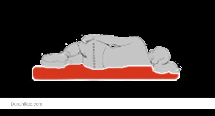 Drop stitch air mattress