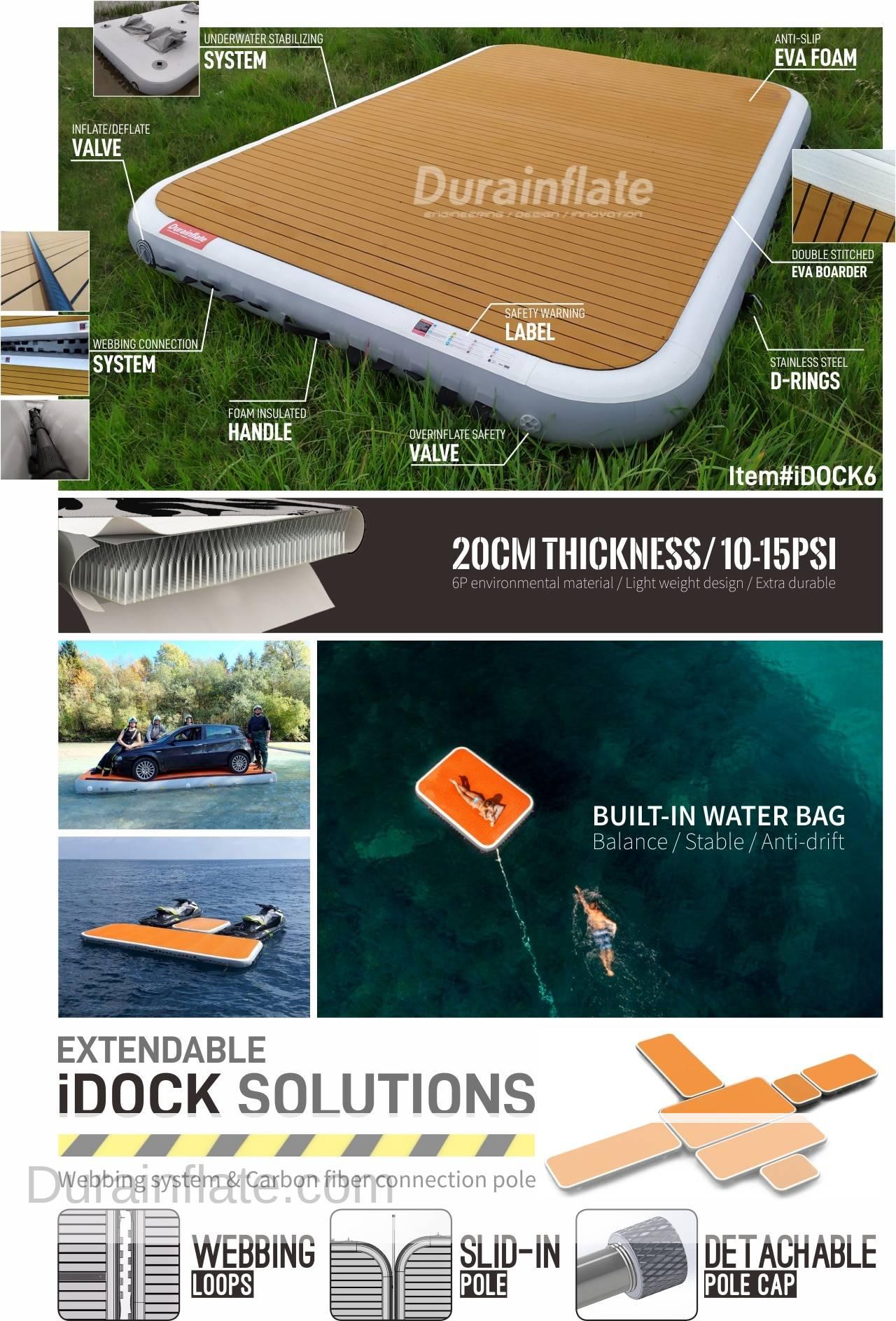 inflatable yacht docks