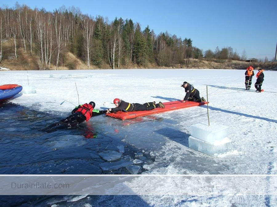 inflatable rescue walkway