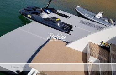 Inflatable Yacht Docks For On-Water Floating Platforms