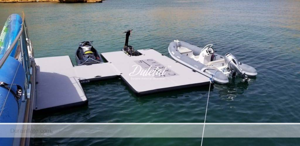 Inflatable Floating Platforms and SUP
